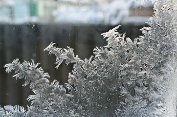 Візерунки на вікні