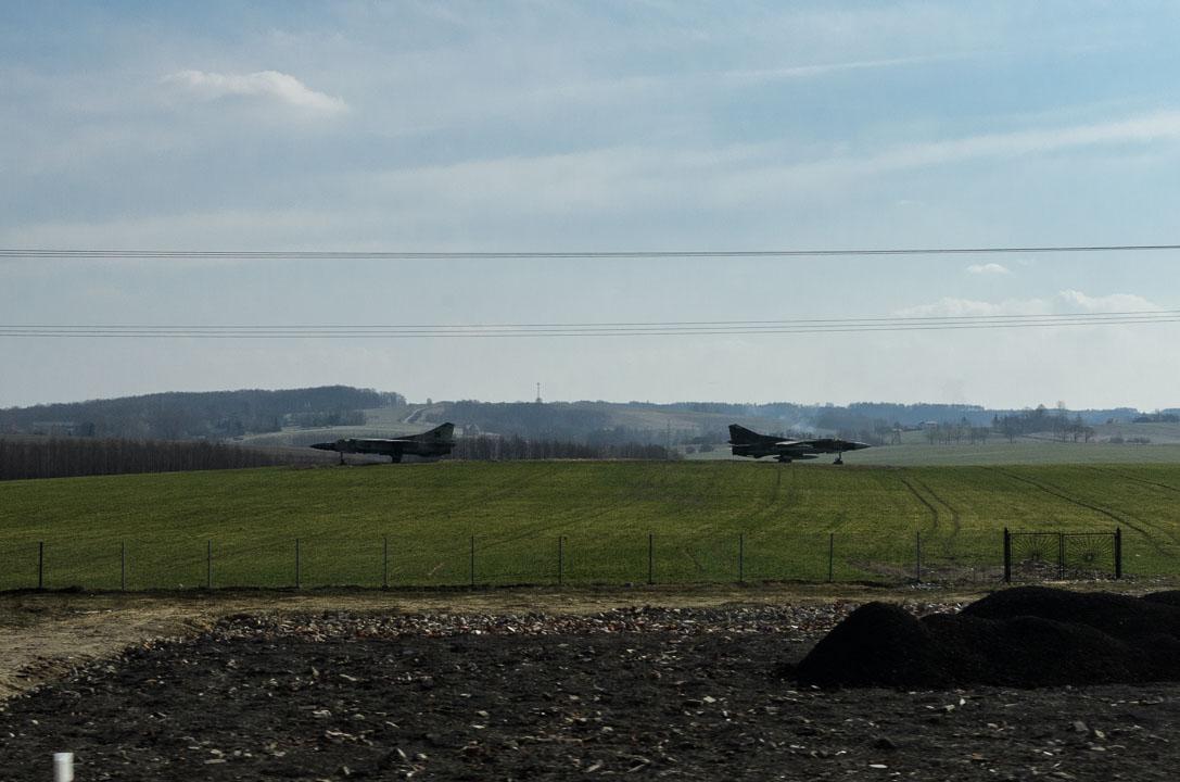 Літаки в полі