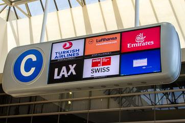 ДрібноМ'які рекламуються в аеропорті