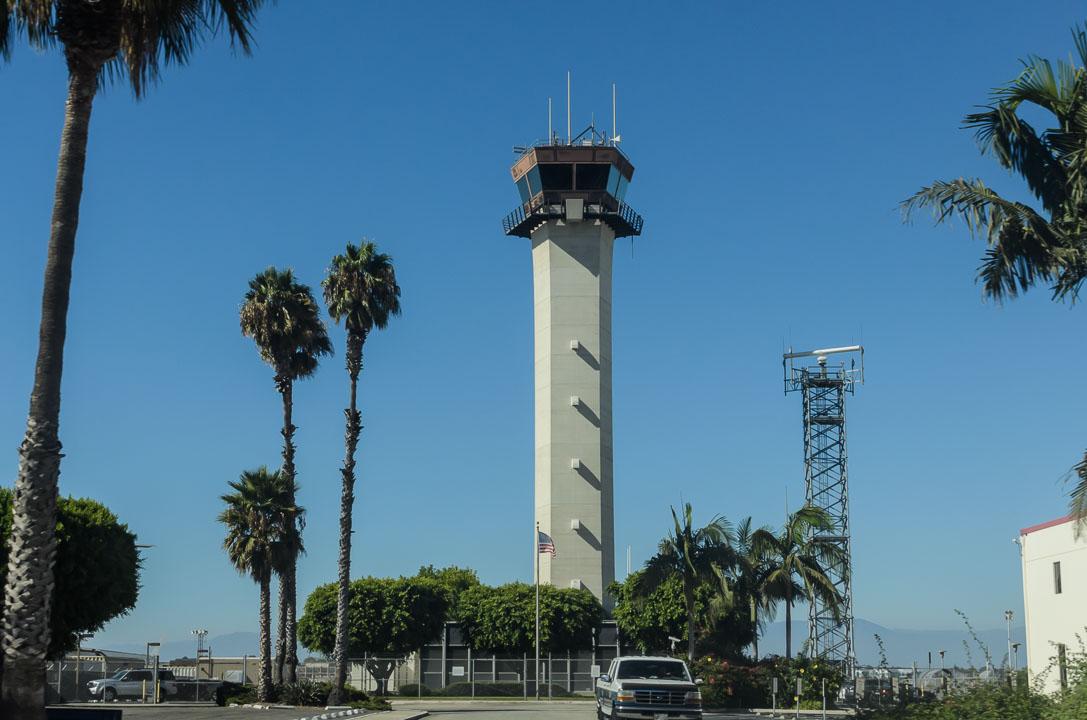 Вежа аеропорту Long Beach