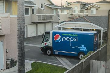 Електромобіль Pepsi