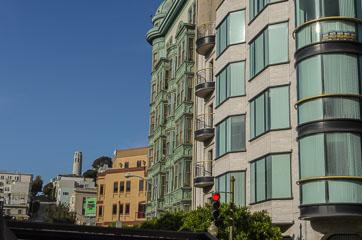Будинки та вежа