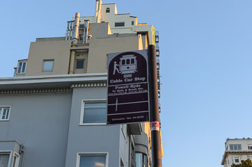 Зупинка кабельного трамваю
