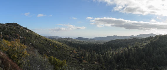 Панорама гір