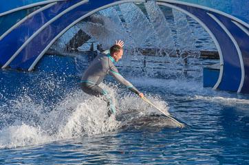Як на водяних лижах