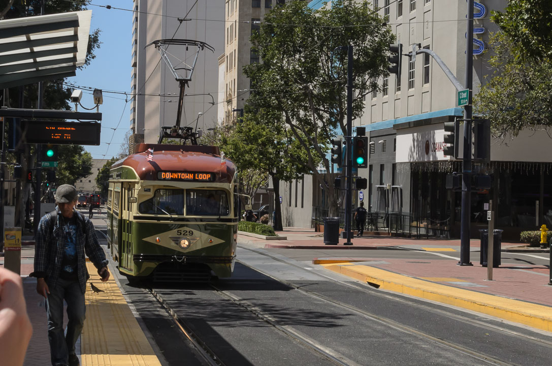 Старий трамвай