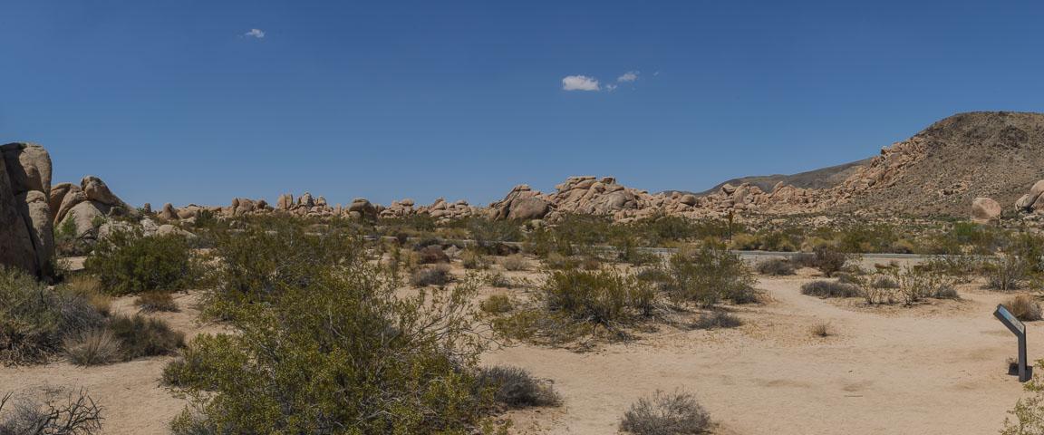 Панорама скель