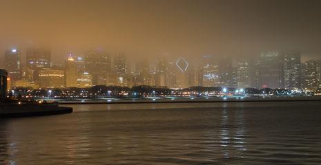 Місто в тумані