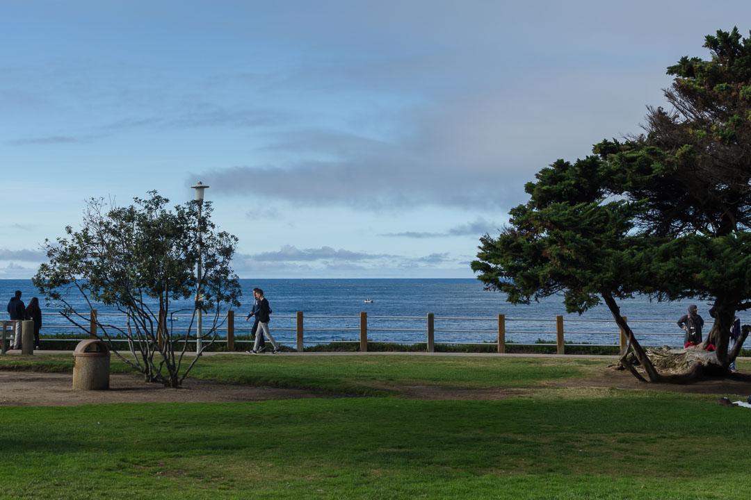 Парк біля океану