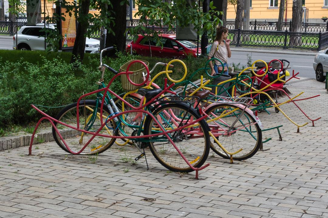 Парковка велосипедів