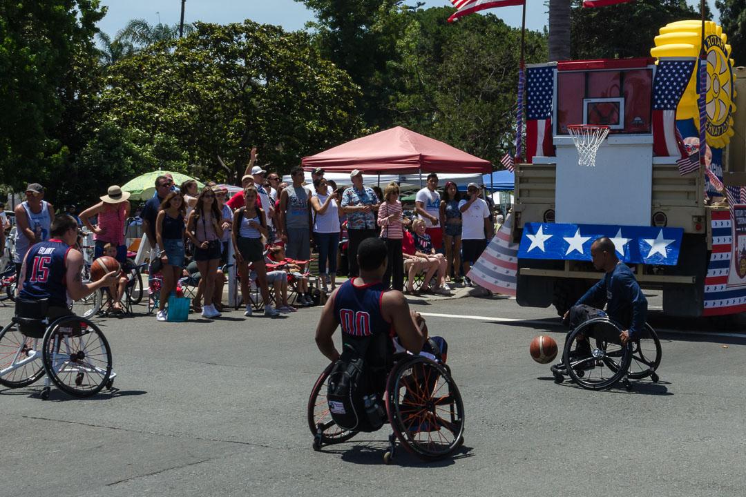 Баскетболисти на колясках